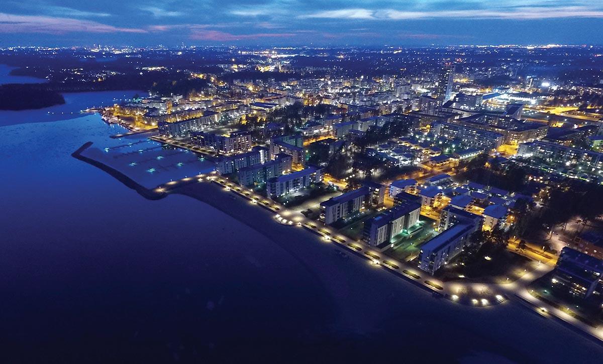 Helsingin Ranta-alueiden valaistuksen periaatteet